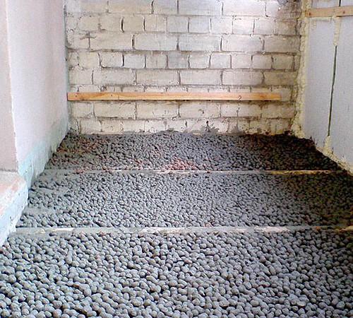 Черновой пол с керамзитобетоном доставка бетона зеленокумск