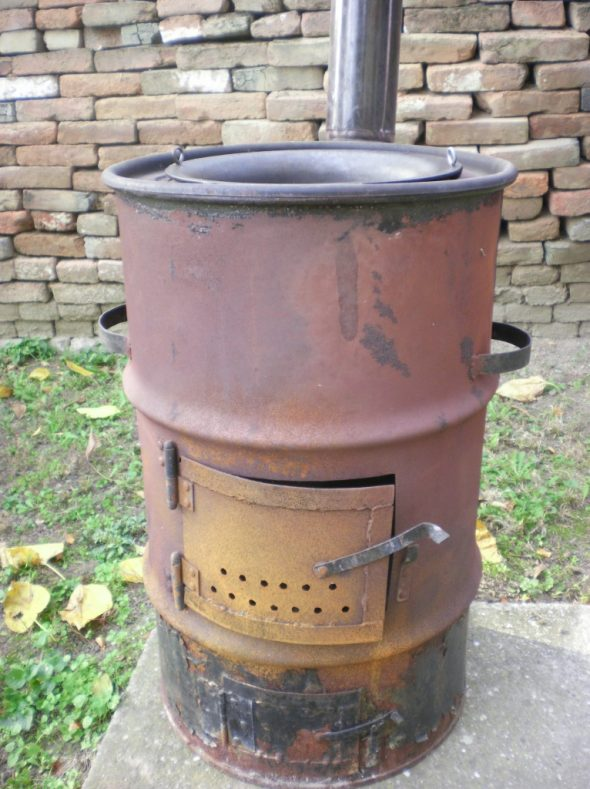 печь из бочки 200 литров своими руками